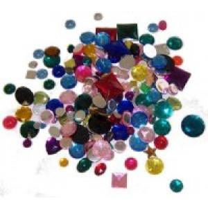 1lb Rhinestones- Gemstones