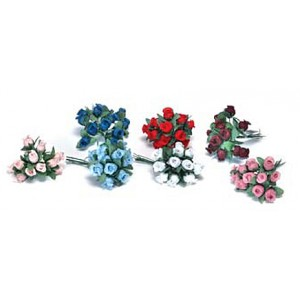 Flower Rose Buds – Choice of Colors!