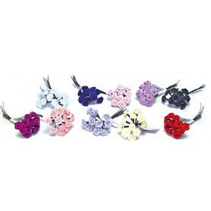 Flower Ribbon Roses, Choice of Colors!
