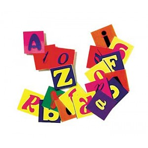 Alphabet Pasting Pieces, 2000/pk.