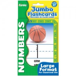 Jumbo Flashcards - Numbers