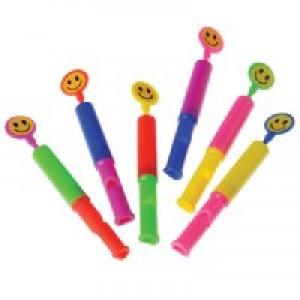Smiley Slide Whistles