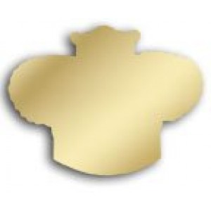 Gold Crown Cut-outs Card Stock