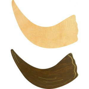Wood Shofar