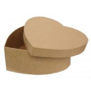 Paper Mache Box-Heart