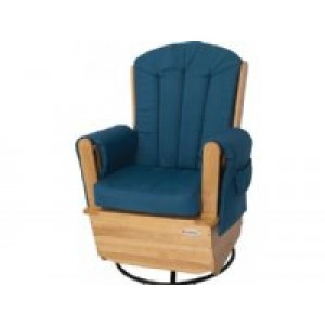Saferocker Swivel Wood Glider
