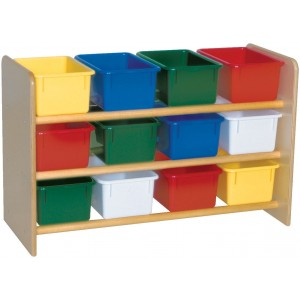 SEE ALL STORAGE WITH ASSORTED BINS