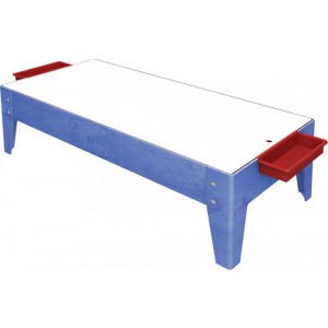 "Sand & Water Table18"" No Casters, Clear Liner,"
