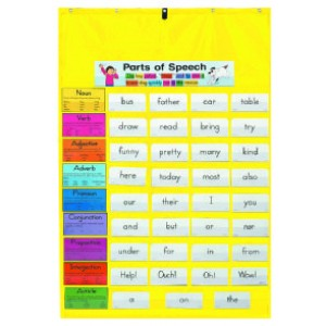 Pocket Chart-Yellow