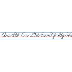 Desk Tapes-Cursive Alphabet