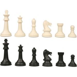 Chess Pieces Black/White,