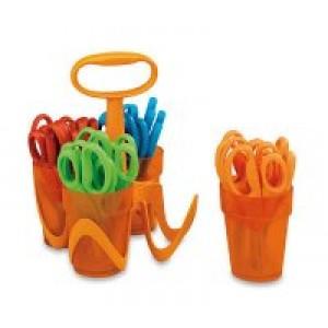 Fiskars Scissors in Caddy-Blunt Tip