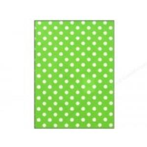 Felt Sheet- Lime Dots
