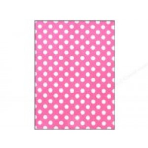Felt Sheet- Pink Dots