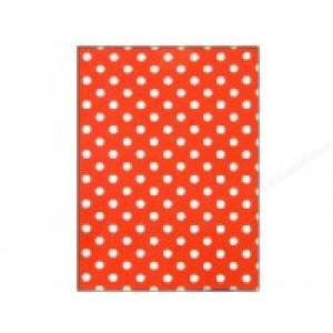 Felt Sheet- Red Dots
