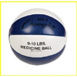 Leather Medicine Balls 9-10lbs
