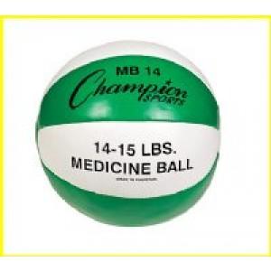 Leather Medicine Balls 15-16lbs