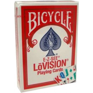 LO VISION POKER CARDS - BLUE