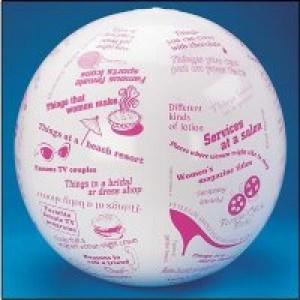Toss N Talk About Women Stuff Ball