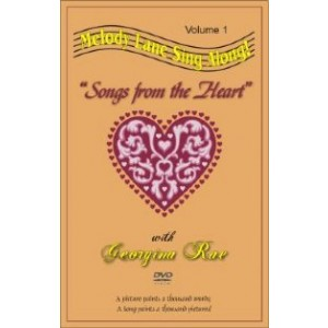 Melody Lanes Songs From The Heart DVD