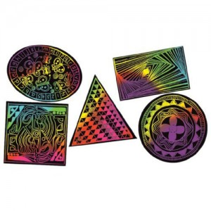 Scratch Art Geometric Pack