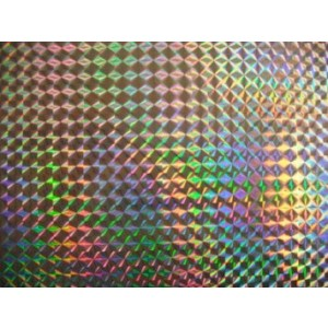 Holographic Poster Mosaic