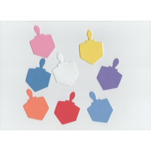 Dreidels Foam Shapes