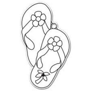 Suncatchers- Flip Flop 12/PK
