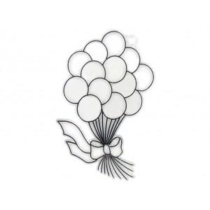 Suncatchers- Balloons 12/PK