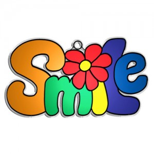 Suncatchers- Smile 12/PK