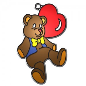 Suncatchers -Bear