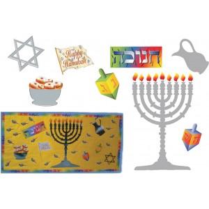Chanukah Bulletin Board Set