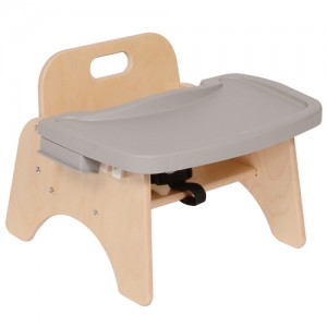 Wood Highchair With Tray- Variety of Sizes