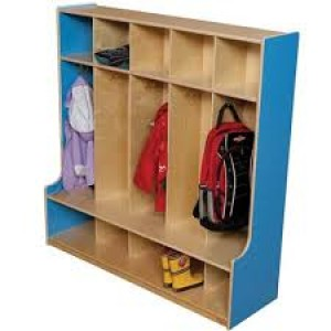 5 Section Locker - 48""