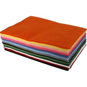 Felt Sheets – Primary Colors, Asst'd 50/pk