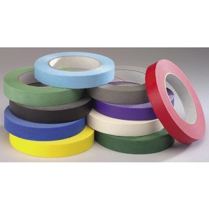 "Colored Masking Tape 3/4"" – Choice of Colors"