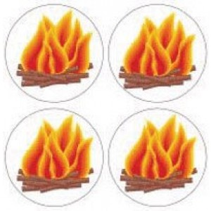 Bonfire Stickers