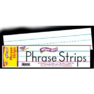 Wipe Off Phrase Strips