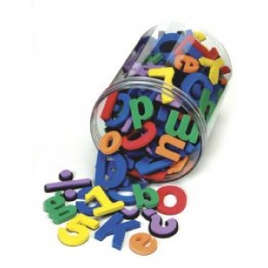 Foam Magnetic Letters & Numbers