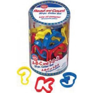 ABC & Number Cookie Cutters