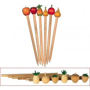 Fruit Pencil, Set of 6