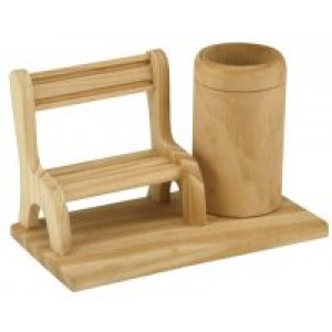 Bench Pencil Holder