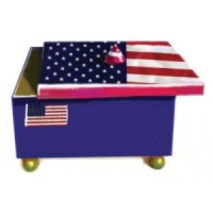 Patriotic Card Box