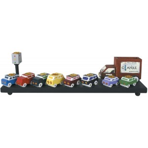 Traffic Menorah - 12/pk