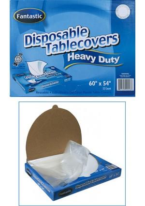 "Disposable Tablecloth - 54"", 32/pk"