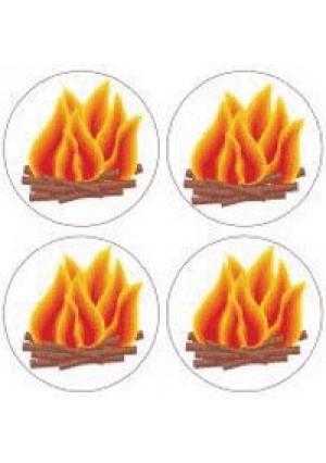 Bonfire Stickers